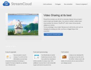 Auf Streamcloud können Videos zum Streaming hochgeladen werden - Bildquelle: streamcloud.eu